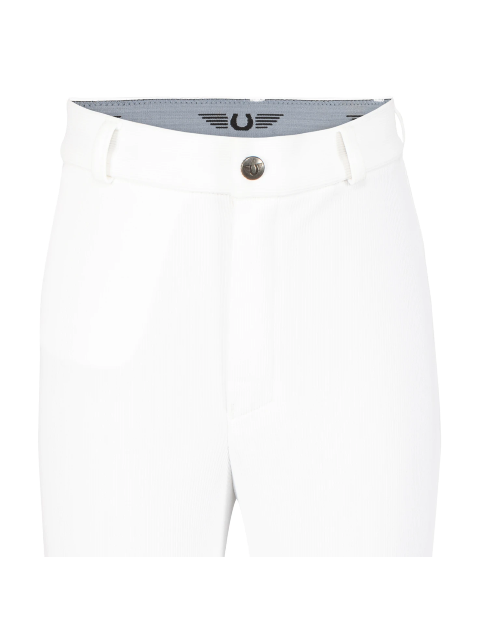 Tuffrider Children's Ribb Knee Patch Breeches White