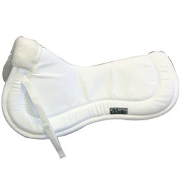 Half Pad Exselle Twill High Wither Relief White