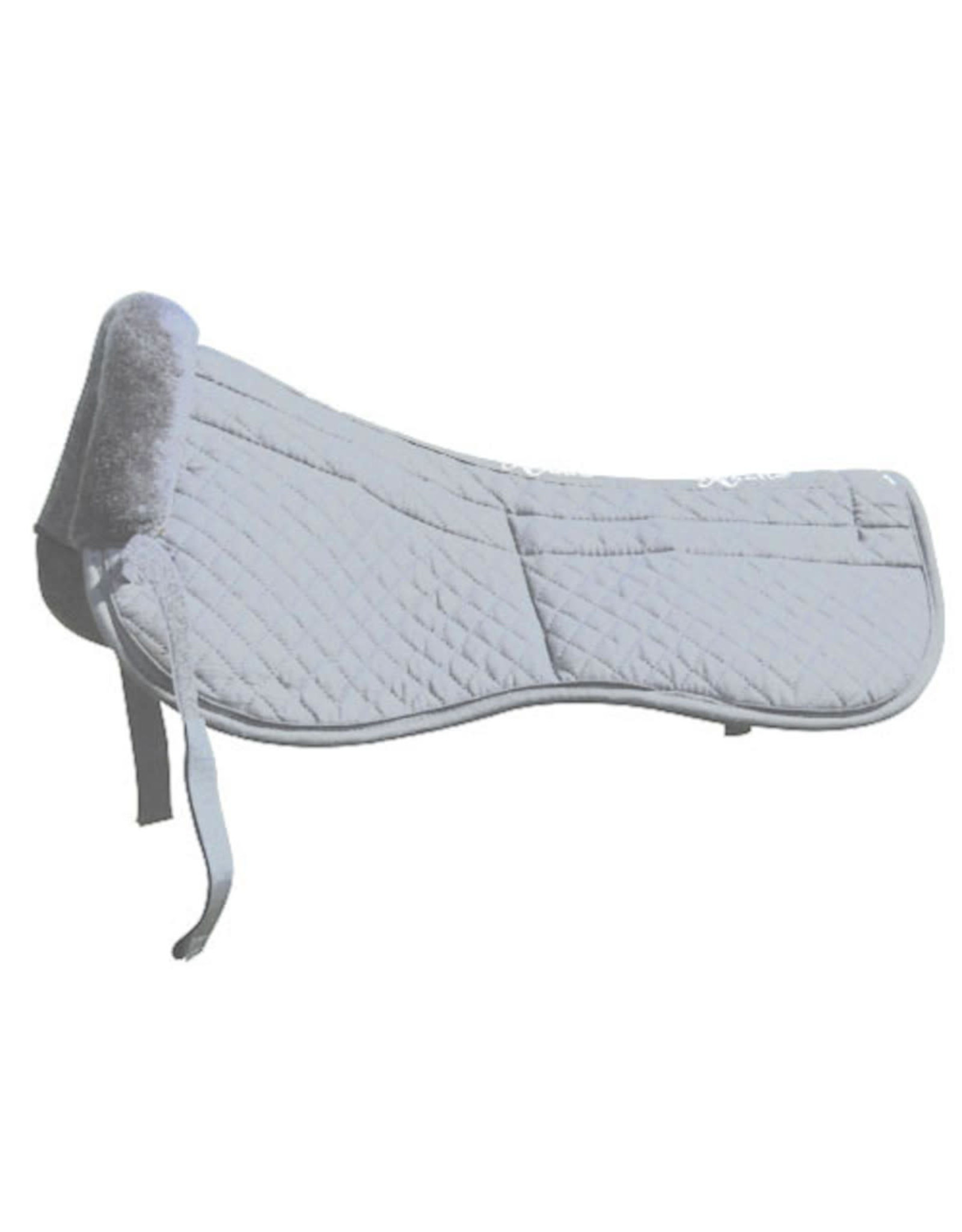Saddle Fitting Half Pad Removable Maxtra Foam Inserts White