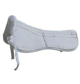Half Pad Maxtra Removable Pads White