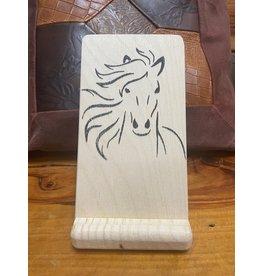 Phone Stand Wood