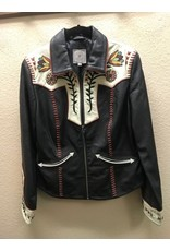 Double D Ranch Black Cowgirl Jacket Med