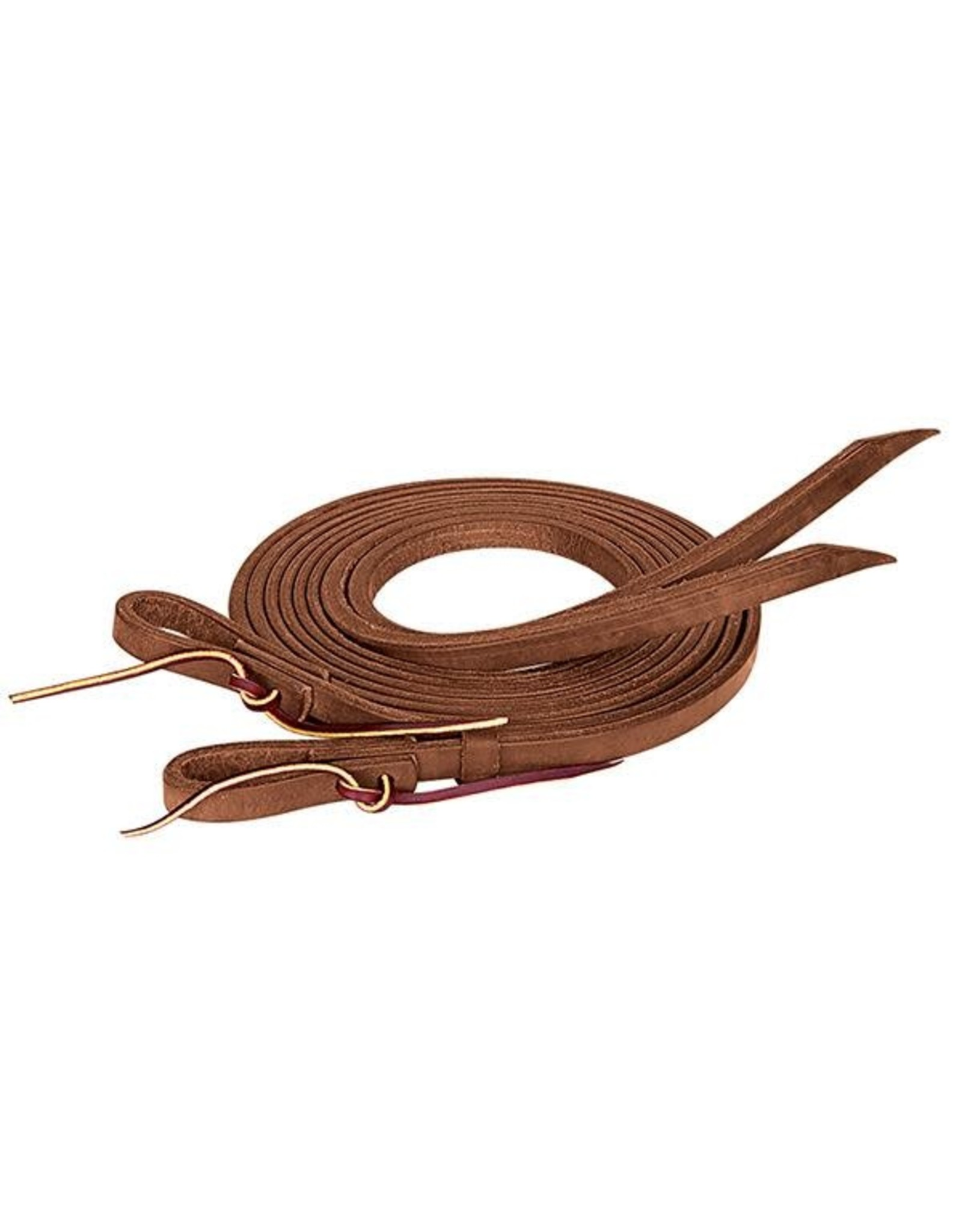 """Pro Tack Split Reins Oiled Extra Heavy Harness 5/8"""" X 8'"""
