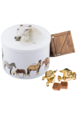 Horse Tin with Vanilla Fudge