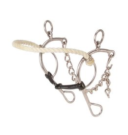 Kelly Silver Star Bit Rope Nose Combination