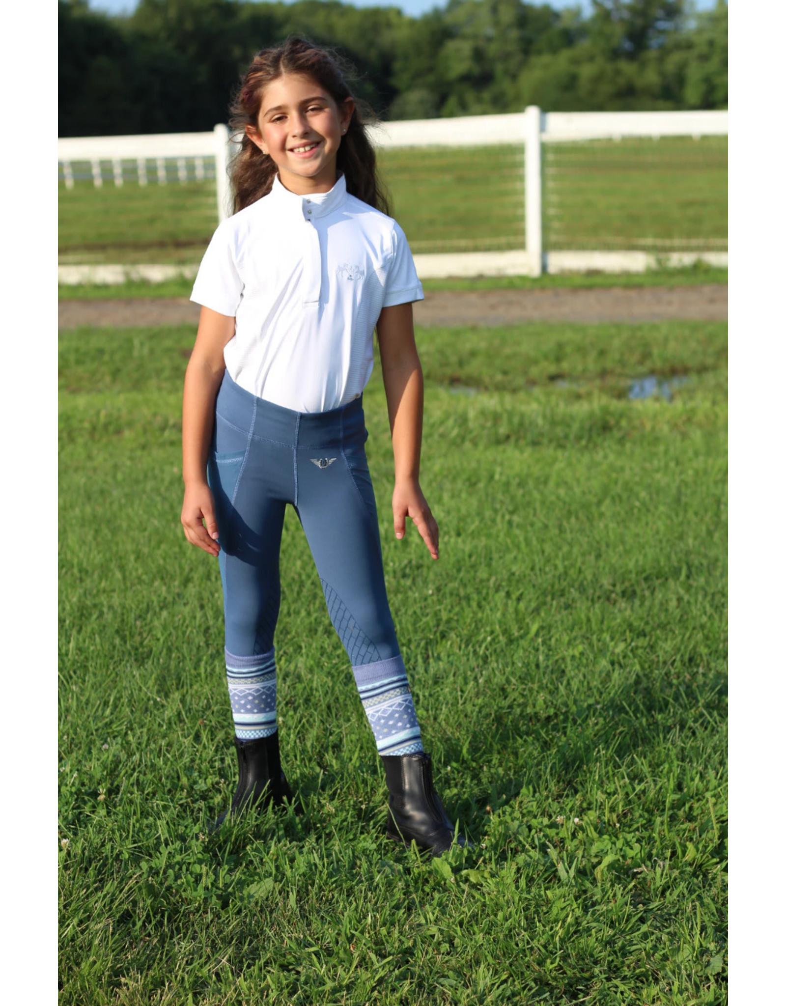 Equine Couture Children's Cara Short Sleeve Show Shirt