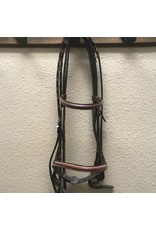 Collegiate Bridle w/Laced Reins -Cob