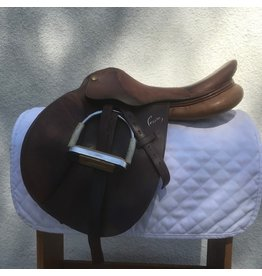 """Pessoa CC  16"""" Med w/leathers and irons"""