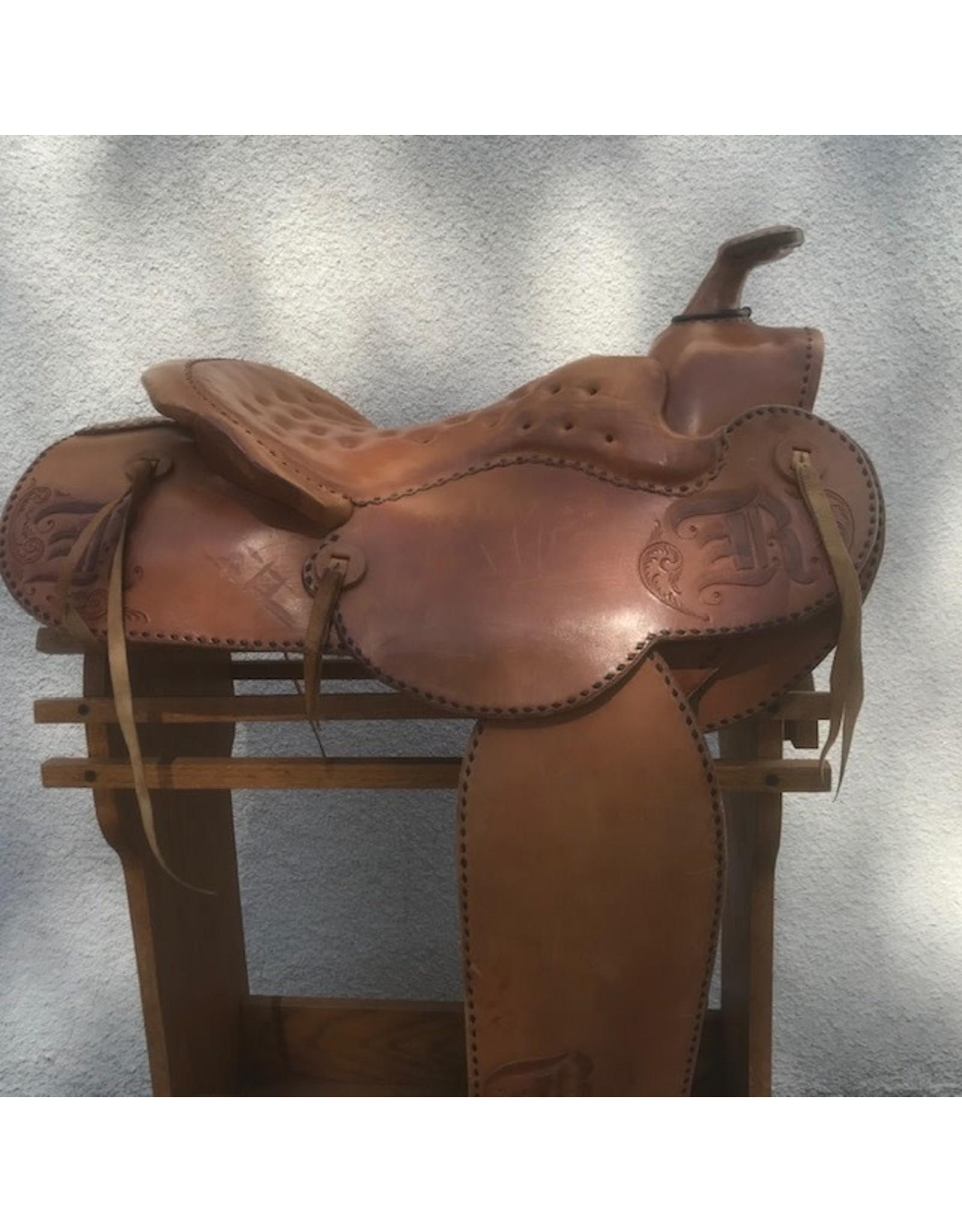 "Jack Thomas Western 15"" Semi-Quarter Horse Bars"
