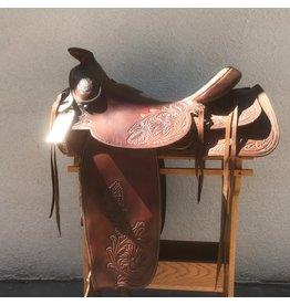 "Dave Silva Saddle 18"" Full Quarter Horse Bars"