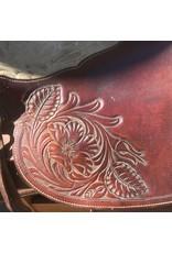 "Dave Silva Saddle 17"" Full Quarter Horse Bars"