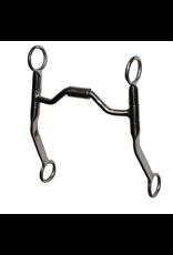 "Metalab Bit Stainless Steel 5"" Futurity Medium Shank #28013"