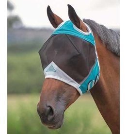 Shires Fine Mesh Fly Mask Ear Holes
