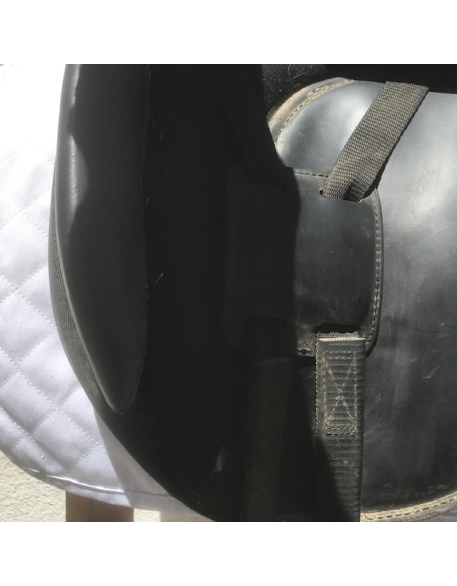 "Dover Circuit Dressage Saddle 17"" Medium Tree"