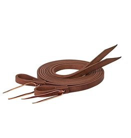 """Pro Tack Reins Split Oiled Extra Heavy Harness 8'  X 3/4"""""""