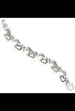 Bracelet Galloping Horse CZ