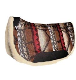 Triple E Contoured Southwest Arabian Saddle Pad w/Wool 30″ x 30″