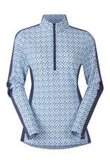 Kerrits Cool Ride Ice Fil Long Sleeve Shirt Print