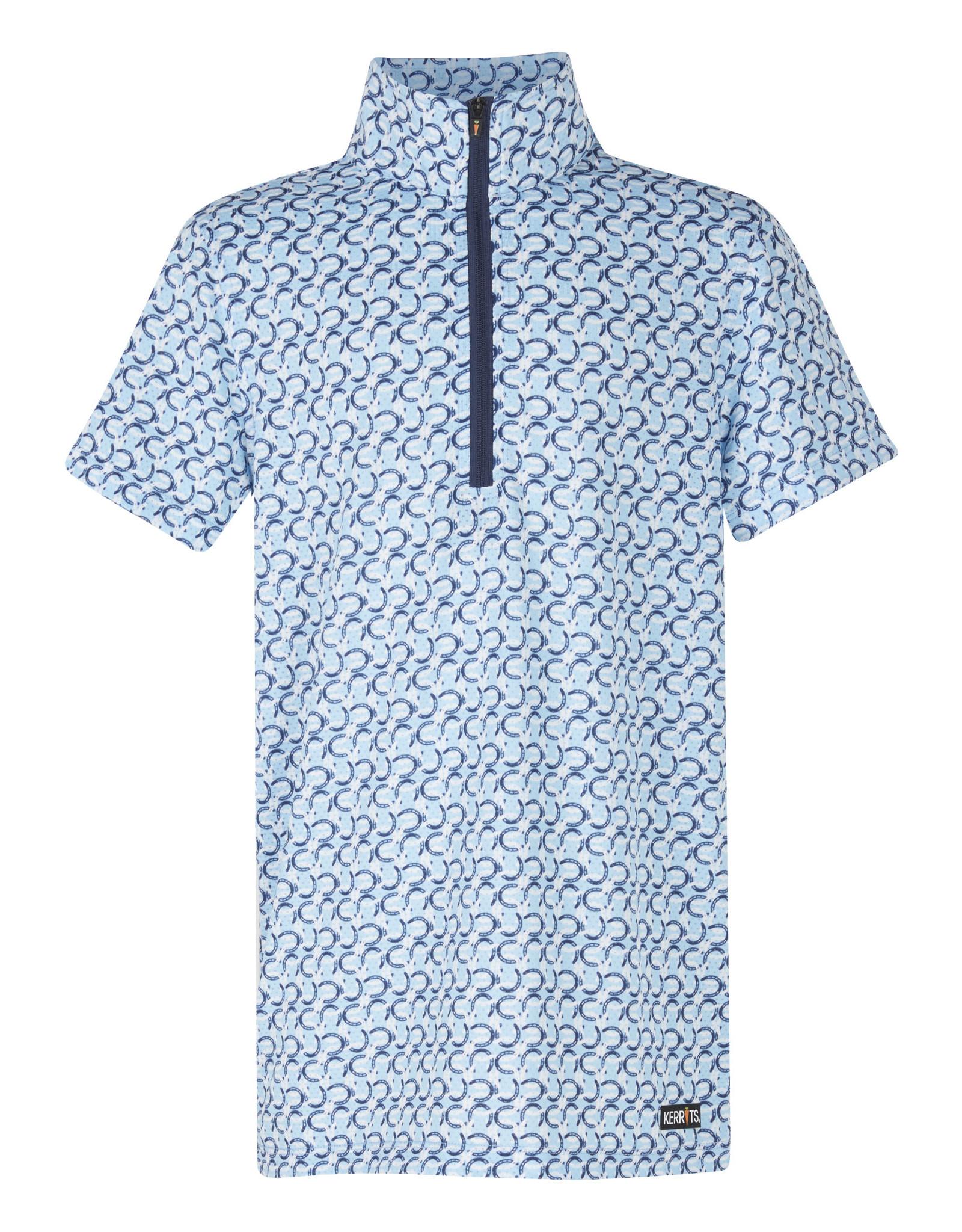 Kerrits Kids Cool Ride Ice Fil Short Sleeve Shirt Print
