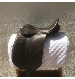 """Collegiate Dressage Saddle Brown 16.5"""" Medium Tree"""