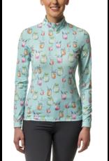 Kastel Sun Shirt Long Sleeve Sea Breeze Summer Cocktail