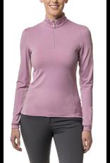 Kastel Sun Shirt Long Sleeve Lilac Shirred Shoulder