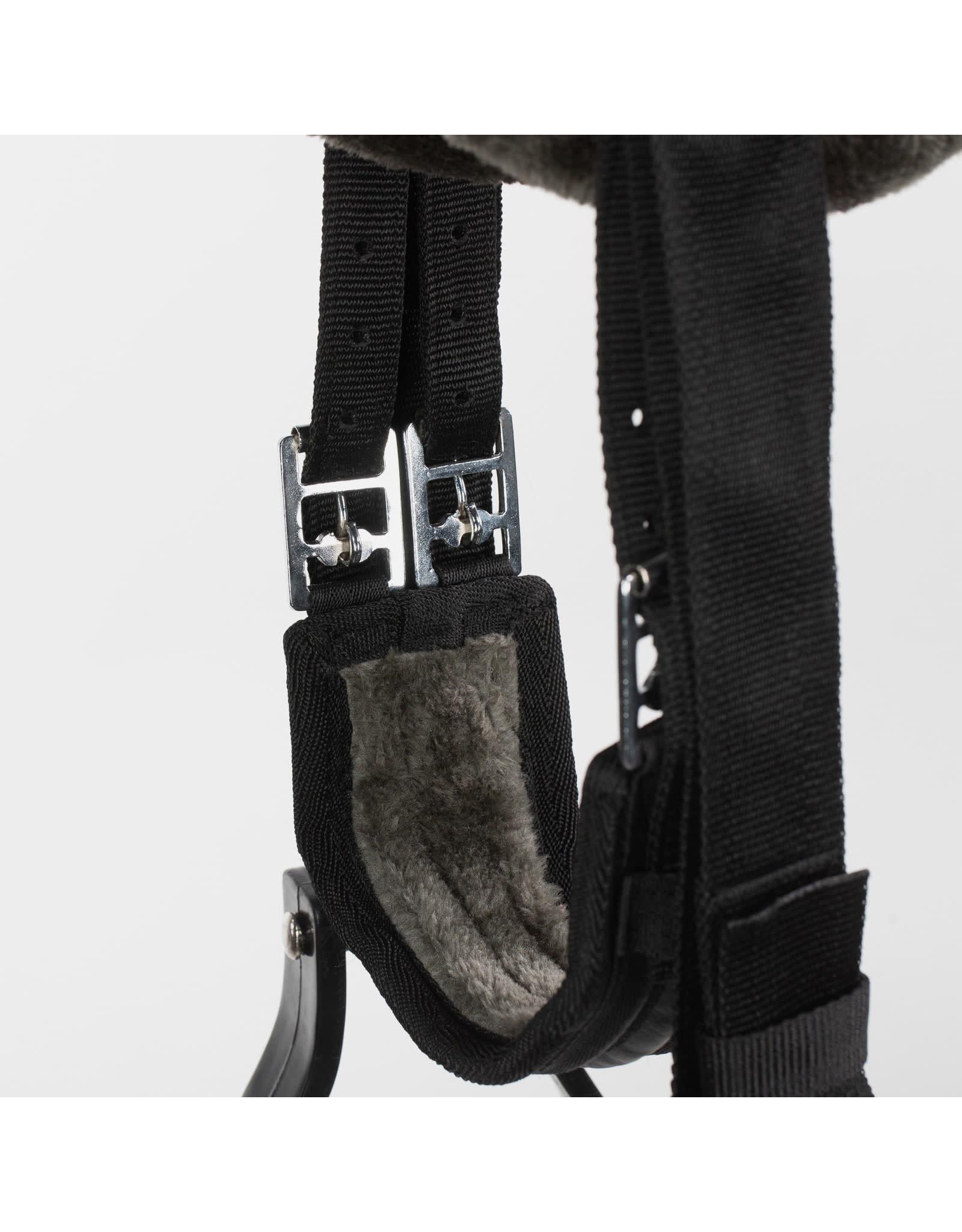 Equinavia Bareback Saddle Pad Set Black/Grey Full