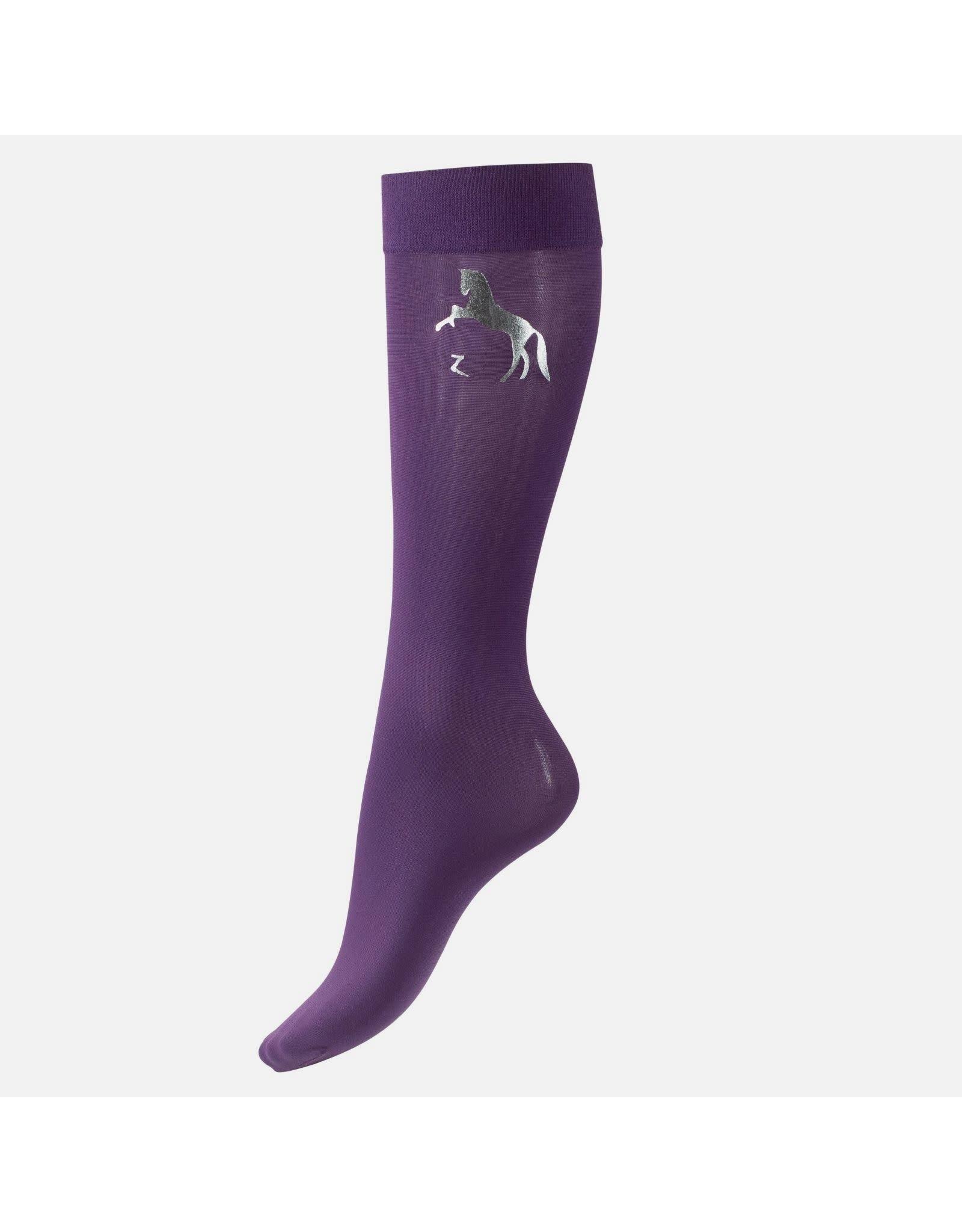 Horze Socks Kids Thin Shiny Logo