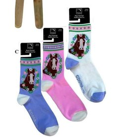 Epona Pony Portrait Paddock Socks junior size