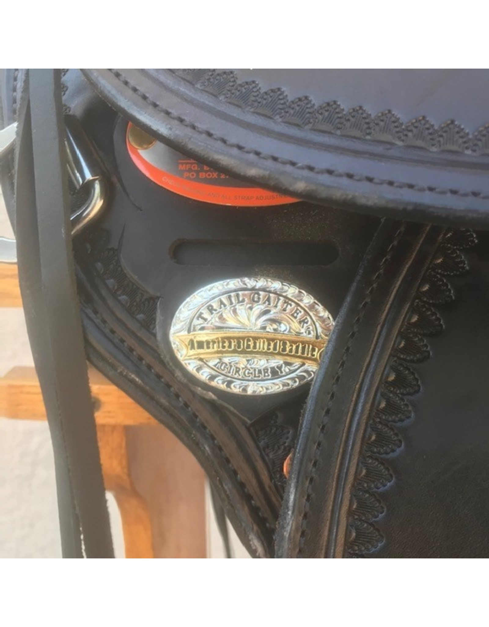 "Circle Y Virginia trail Gaiter Endurance 16"" Wide Gaited"