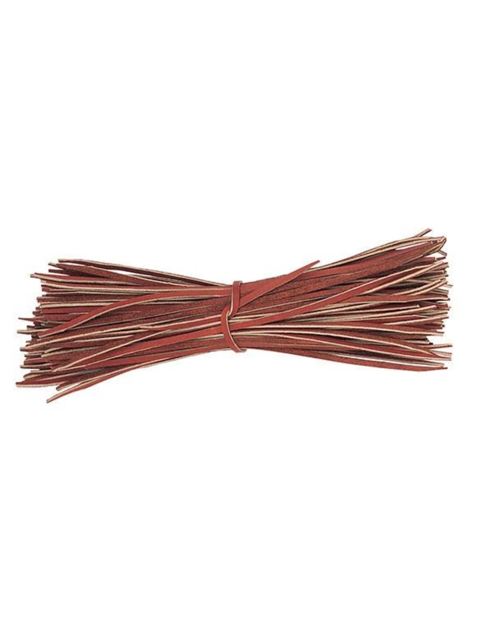 "Weaver Leather Lace Tie Burgandy 3/16"" X 12"""