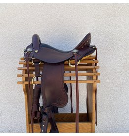 """Allegany Mounted Trail Endurance Saddle 16"""" Gaited Wide Tree"""