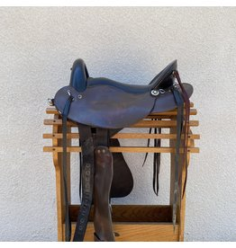 "Desoto Custom Saddlery Endurance 15.5"" Arab/Wide Tree"