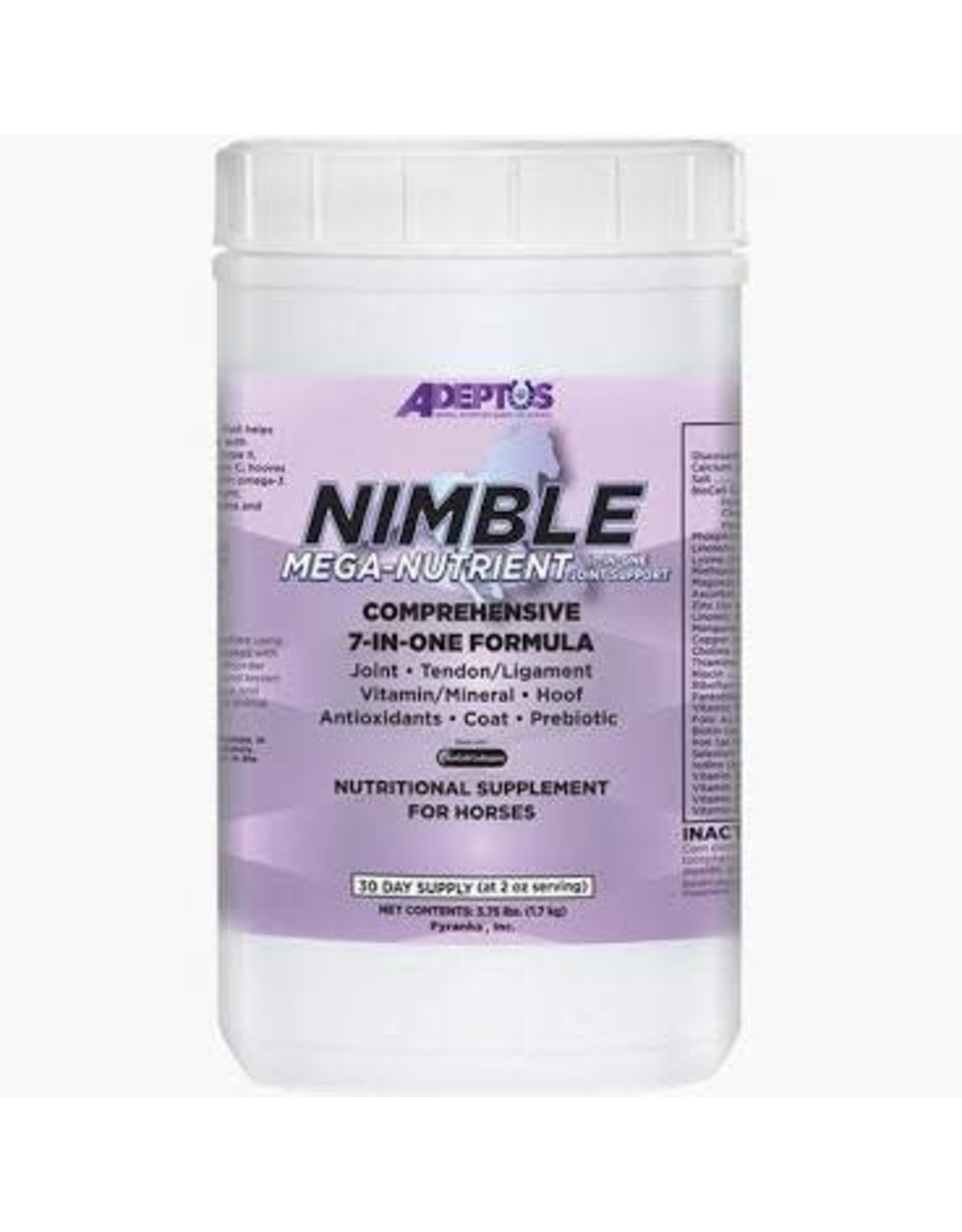 Adeptus Nimble Mega Nutrient