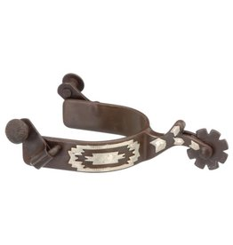 Spurs Antique Brown Youth Southwest/Navajo