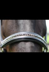 Padded Leather Jewel Halter