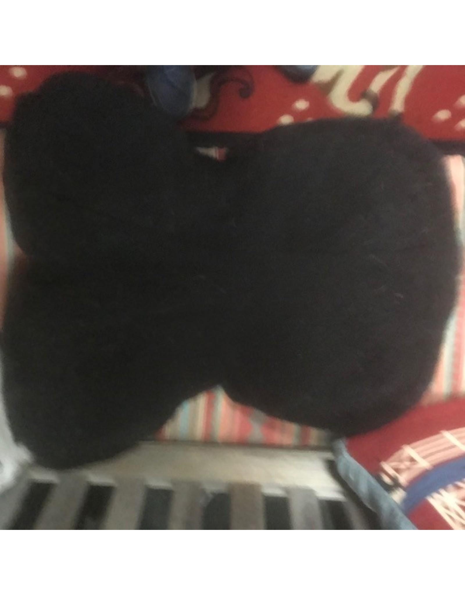 Dressage Fleeceworks Pad Med Black