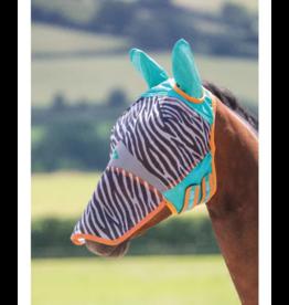 Shires ZEB-TEK Fly Mask Zip Off Nose