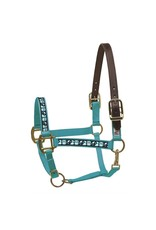 Perri's Halter Safety Turquoise Owl