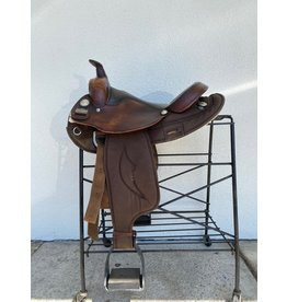 "Big Horn saddle Arab Tree Brown 16"""