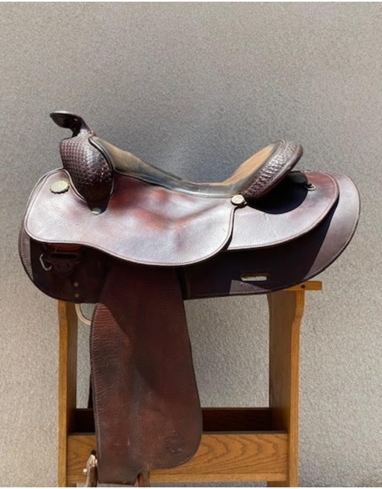 Circle Y Richard Shrakes Round Skirt  16.5 Seat FQHB
