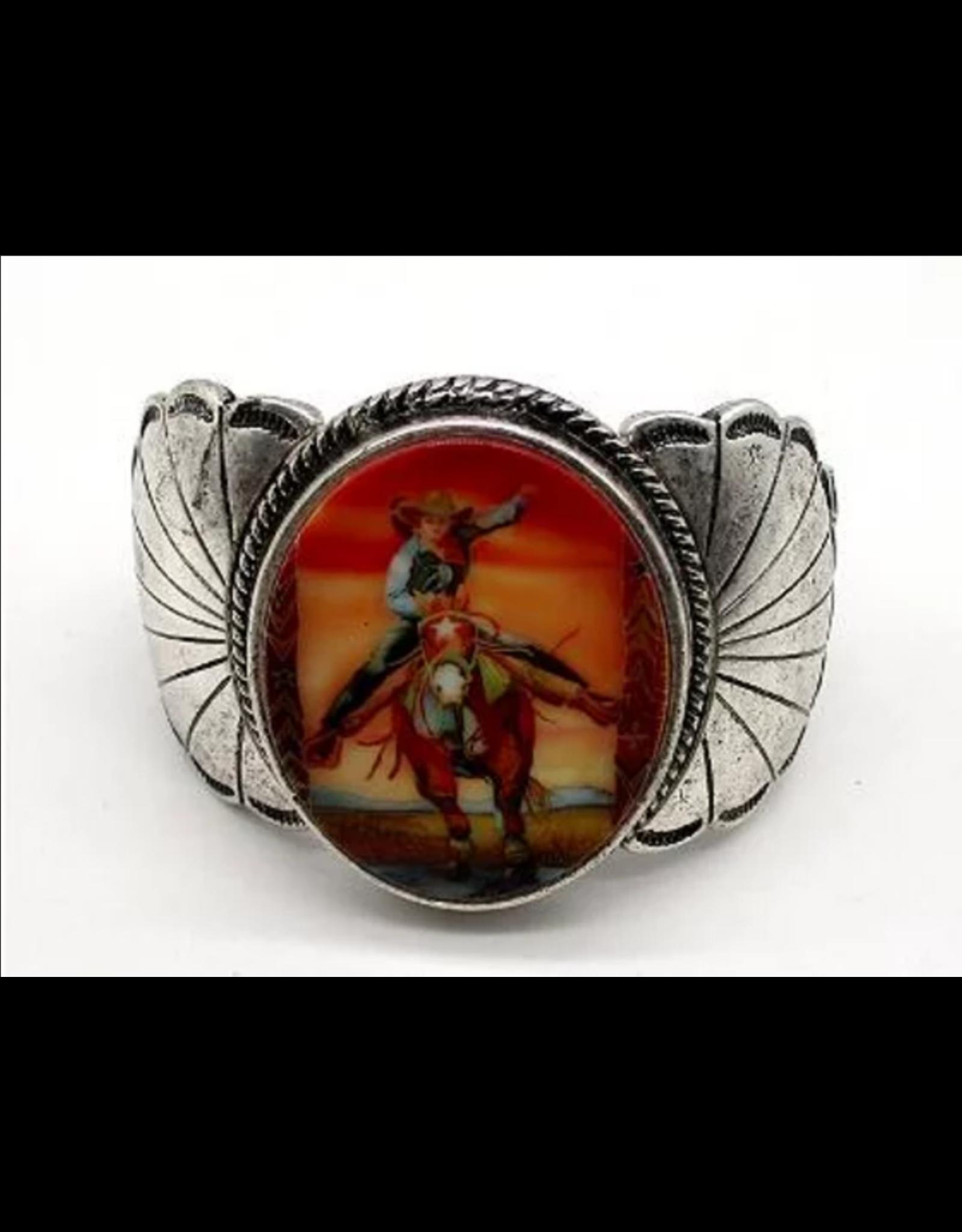 Bracelet Retro Cowgirl Barrel Racer