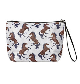 """Cosmetic Case """"Lila"""" Galloping Bays Beige"""