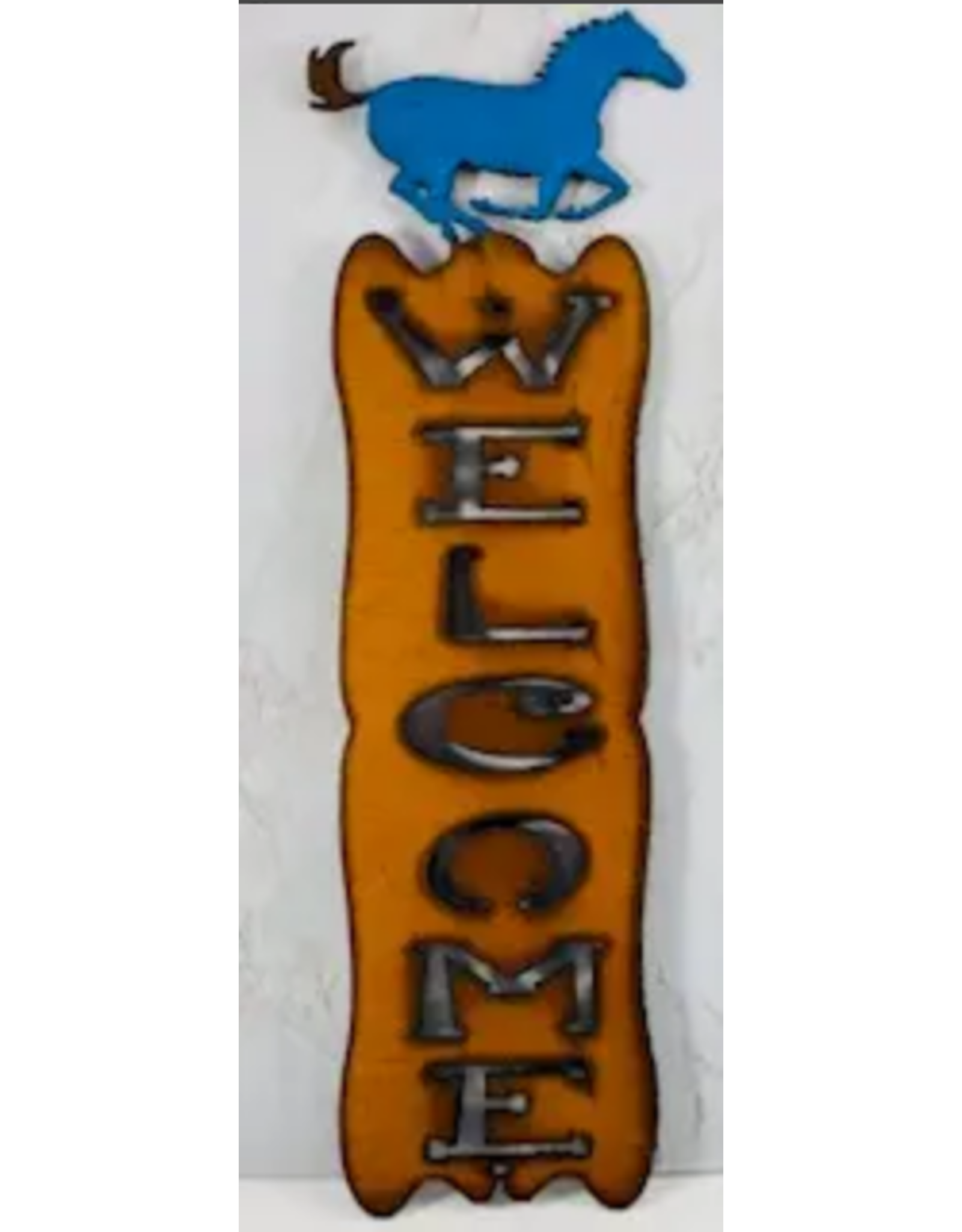 Welcome Sign Horse Rodeo