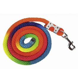 HKM Lead rope Multicolorwith Chrome Snap Hook 6'