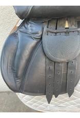 "Black All Purpose Saddle 16"""