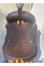 """Wintec Wintec Youth Synthetic Saddle Round Skirt 13"""" Brown"""