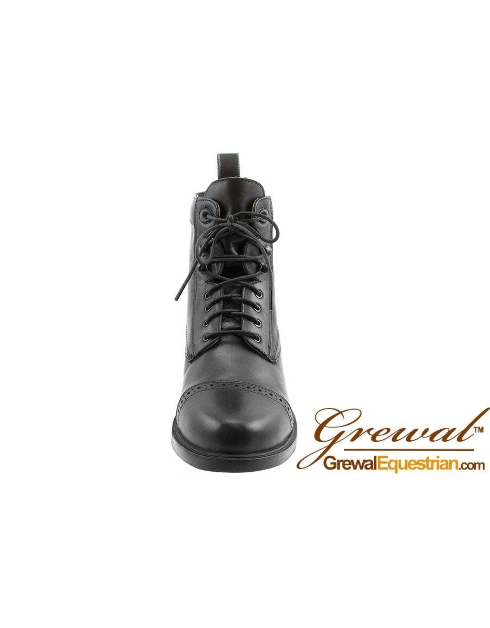 Grewal Paddock Lace-Up Leather