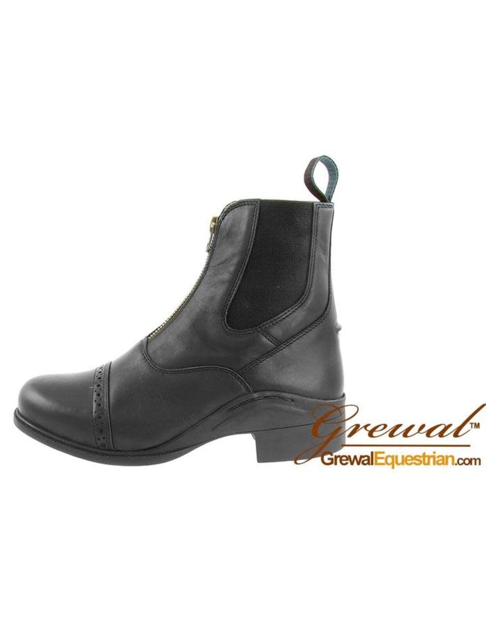 Grewal Paddock Zip-Up Leather