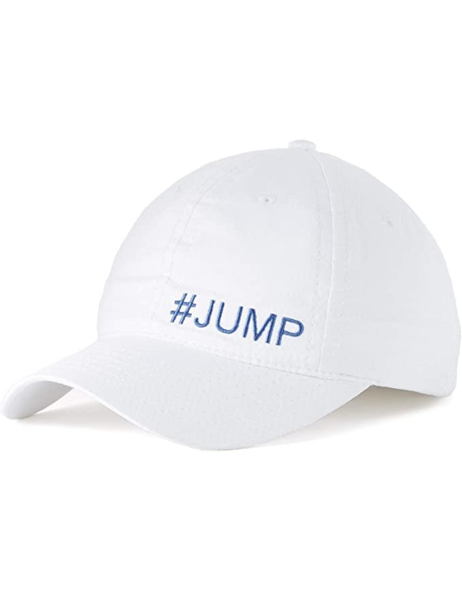 Stable Cap White/Cobalt #Jump